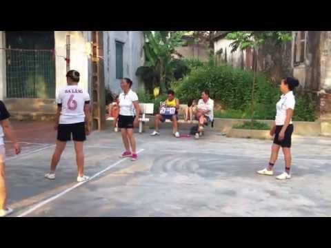 Vô địch bóng chuyền hơi nữ Ba Làng