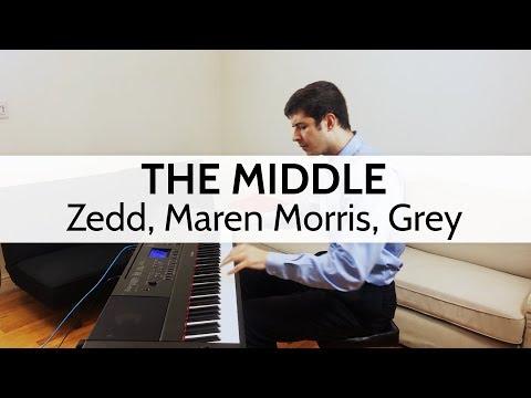 """The Middle"" - Zedd, Maren Morris, Grey (Piano Cover) by Niko Kotoulas"