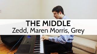 """The Middle"" - Zedd, Maren Morris, Grey (Piano Cover) by Niko Kotoulas"