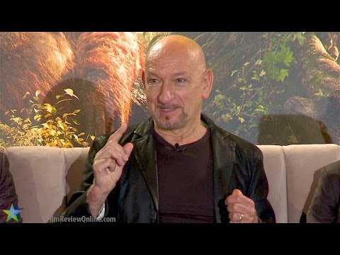 Jungle Book 2016 - Sir Ben Kingsley's amazing insight into Bagheera & Akela