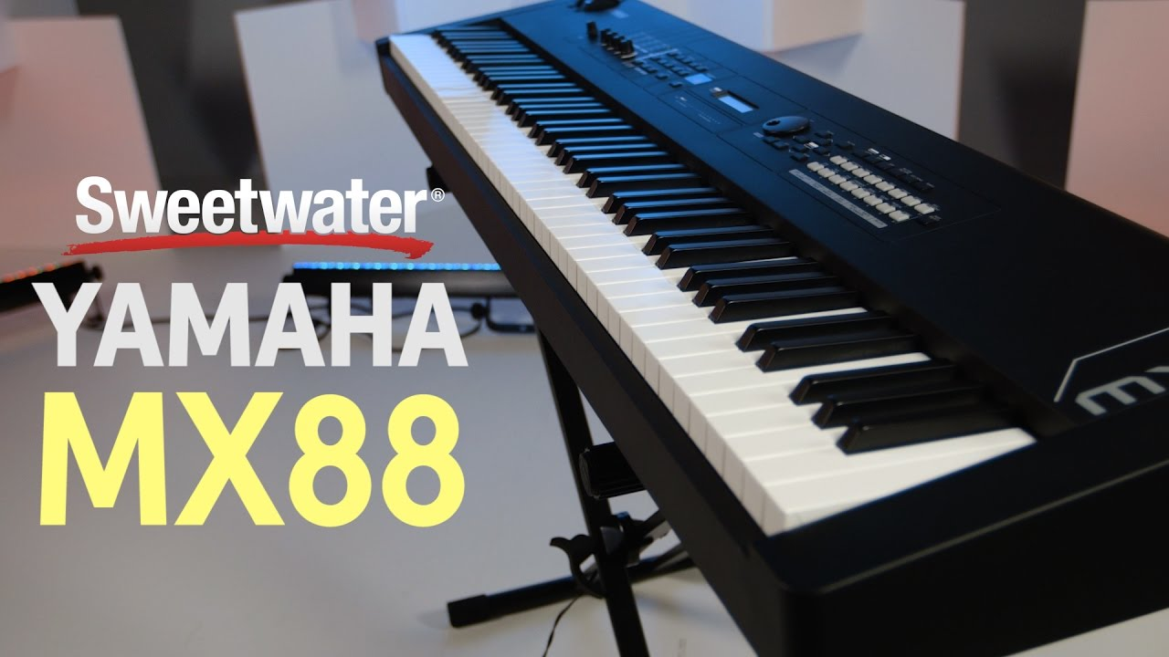 Yamaha MX88 Black