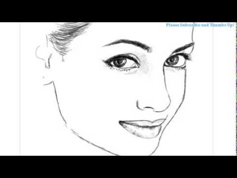 Lonely Girl Walking Wallpaper How To Draw A Beautiful Girl Face Youtube