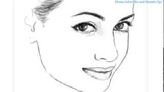 How to Draw a Beautiful girl face