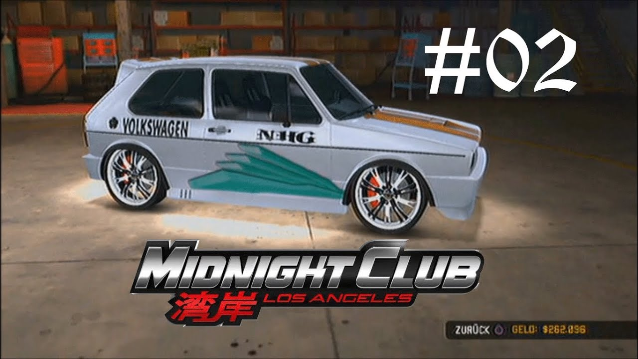midnightclub los angeles let s tuning cars 02 vw 1983er golf gti youtube. Black Bedroom Furniture Sets. Home Design Ideas