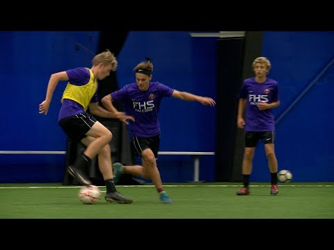 Fitch and Ledyard soccer go purple for Alzheimer's