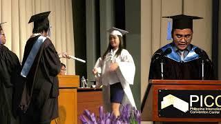Arellano University Elisa Esguerra Campus  1st Senior High School Commencement Exercises