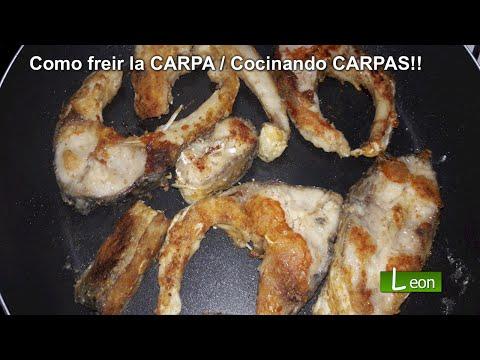 Cómo freír la CARPA / Cocinando CARPAS!!