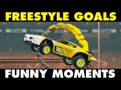 Rocket League | Freestyle Goals & Funny Moments!
