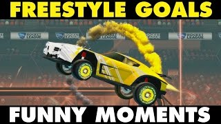 Rocket League   Freestyle Goals & Funny Moments!