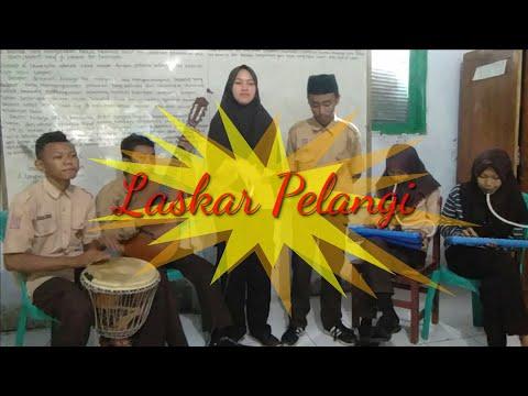 Lagu Laskar Pelangi (Cover) By Siswa-Siswi MTs Tumbel Gani