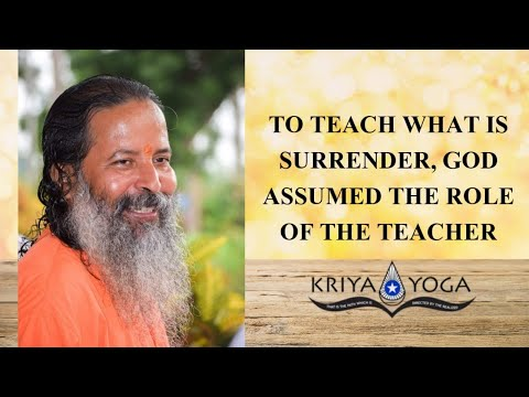 To Teach What Is Surrender, God Assumed the Role of the Teacher