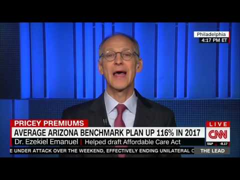 Emanuel: Arizona's Premium Increases Are A Real Problem, Subsidies Will Not Solve It Entirely
