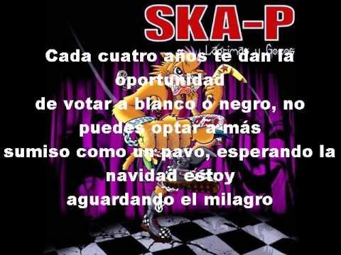 Ska-P Ni fu ni fa Con letra