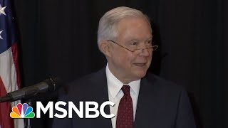 Sessions & Sanders Invoke Bible Defending President Trump's Migrant Policy | The 11th Hour | MSNBC