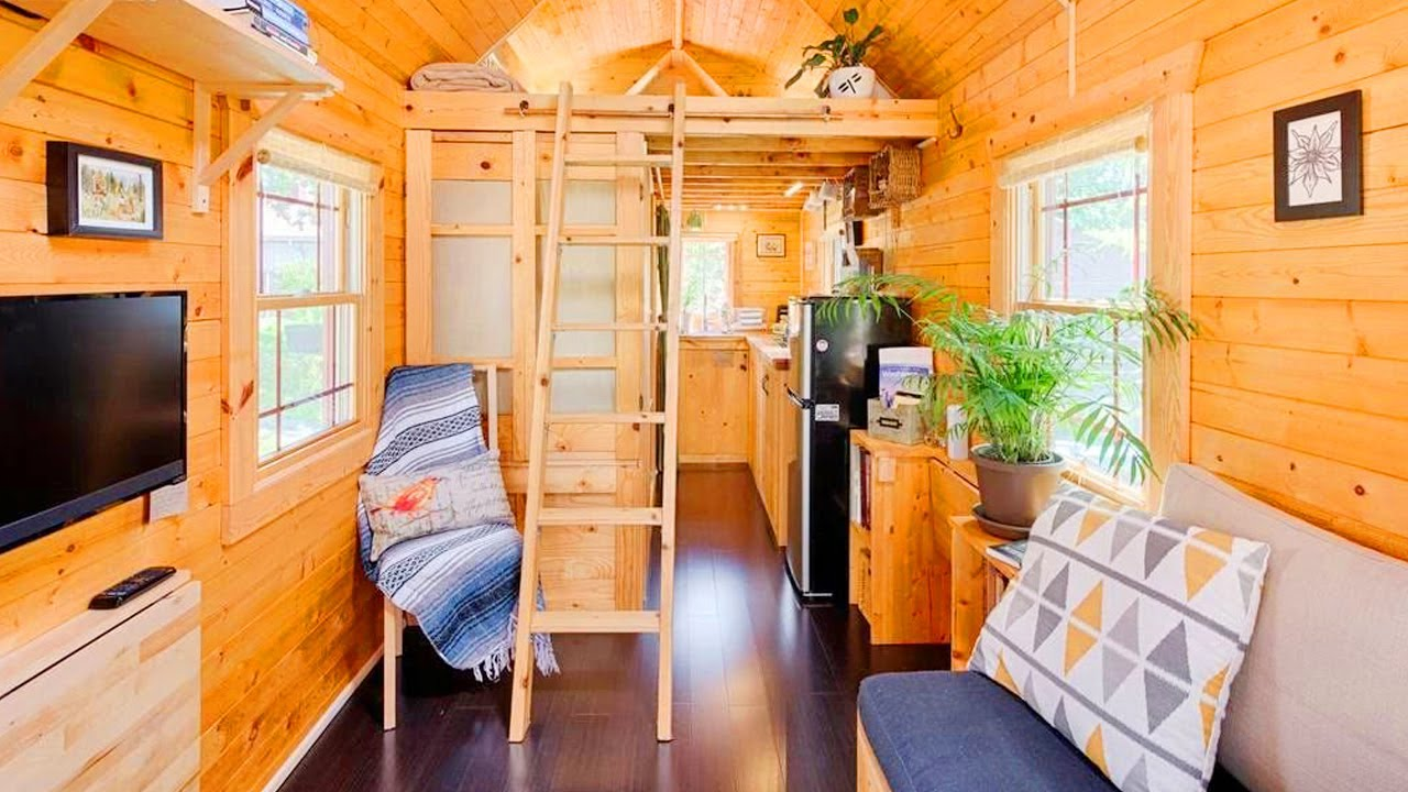 The Self Built Tiny Tack House In Seattle | Exploring Tiny House