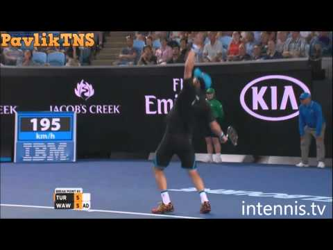 Stanislas Wawrinka vs Dmitry Tursunov Highlights ᴴᴰ Australian Open 2016