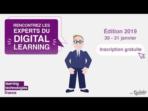 Learning Technologies France 2019 : Vidéo de présentation en 2 minutes