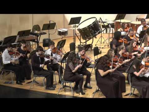 All County Senior Orchestra Clinic 2014