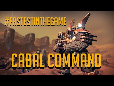 Destiny - Cabal Command #Fastest Way in the Game