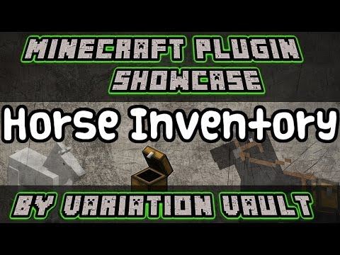 Minecraft Bukkit Plugin - Horse Inventory