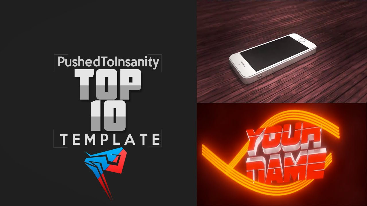 Top 10 free gaming intro templates of july 2015 blender cinema 4d adobe after effects youtube for Pushed to insanity