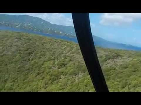 Helicopter Ride From St. Thomas To Hans Lollik - Virgin Islands