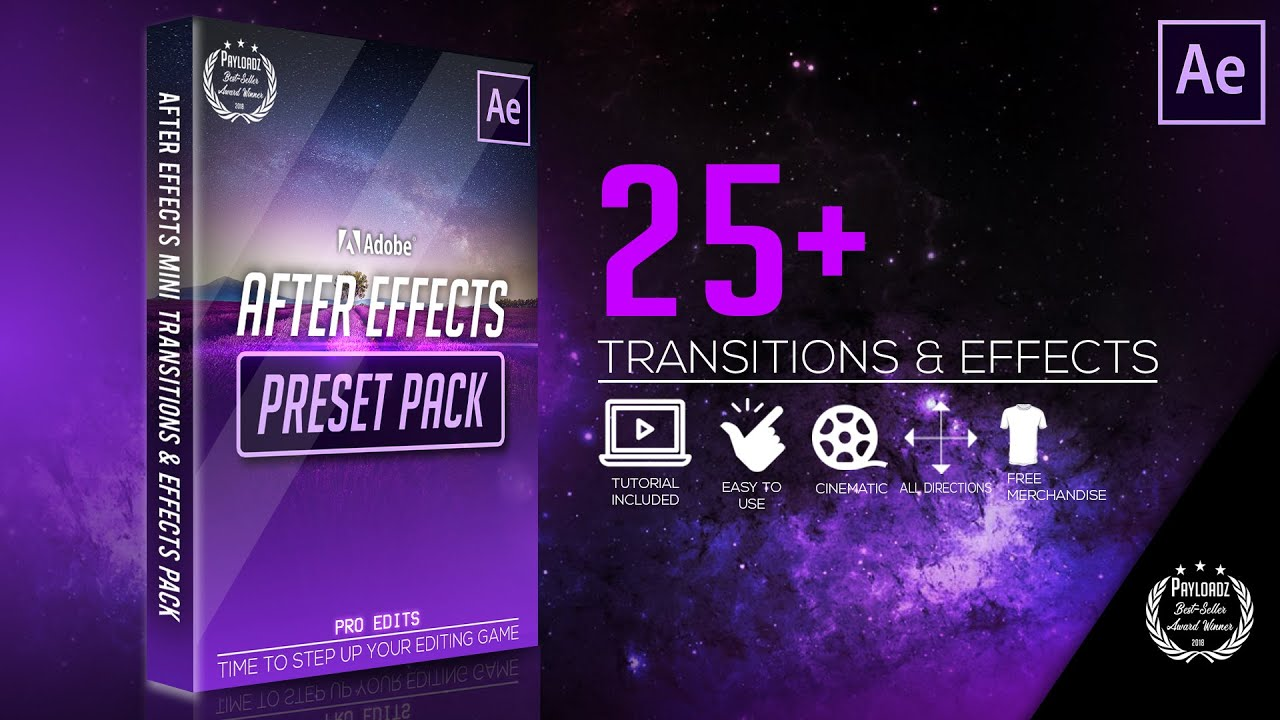 After Effects | Mini Transition & Effects Pack By Pro Edits (DO NOT MISS  THIS!)