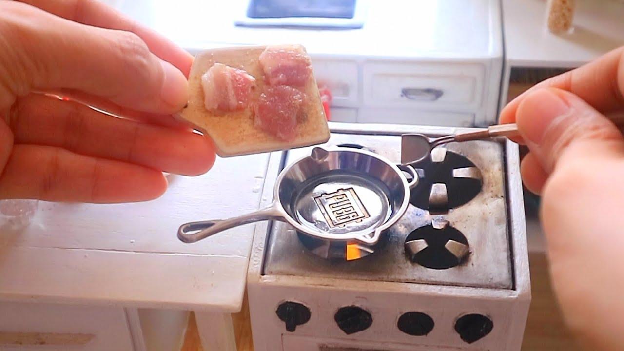 S2 Ep49 Omg Burning Miniature Stove Creamy Pork Chops Just Like