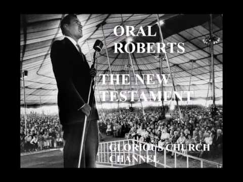 Oral Roberts reading the New Testament - 1  ( Matthew 1:1 - 4:20)