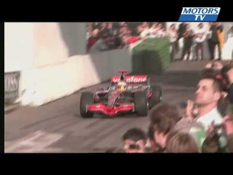 Lewis Hamilton Formula 1 Stars & cars 2008