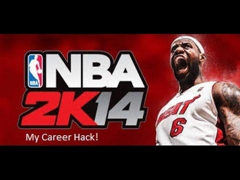NBA 2k14 My Career Hack (Easier Than Rookie Difficulty)