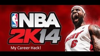 NBA 2k14 My Career Hack (Easier Than Rookie Difficulty)