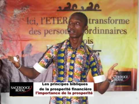 Principes bibliques de la prospérité financière Introduction
