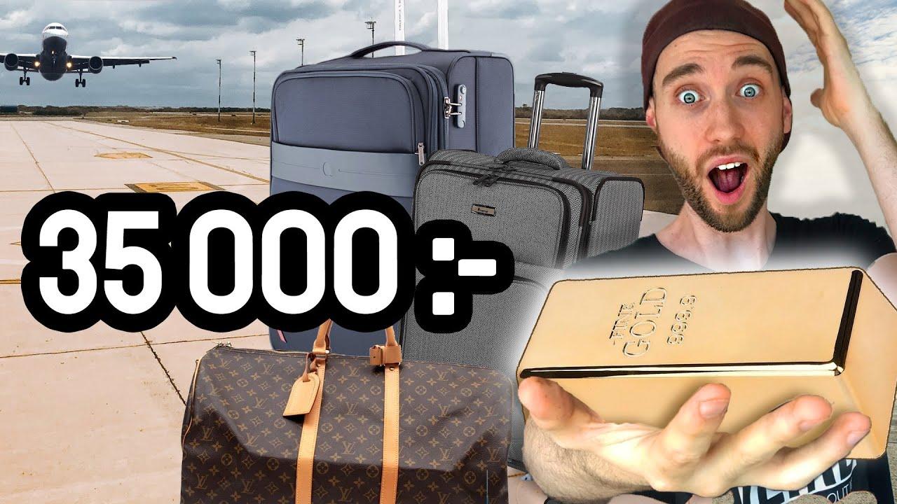Köpte borttappade väskor för 3.000kr och hittade det här...