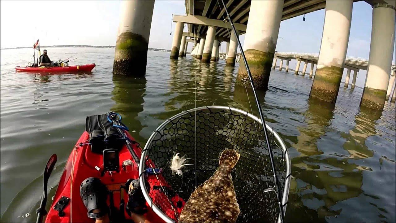 Flounder but no sheepshead no spade fish at cbbt aug 16 for Chesapeake bay bridge fishing report