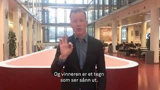 Dette heter OsloMet på tegnspråk