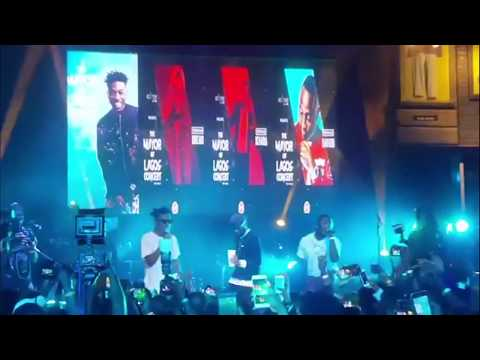 Watch Moments At The Mayor Of Lagos Concert { Nigerian Entertainment}