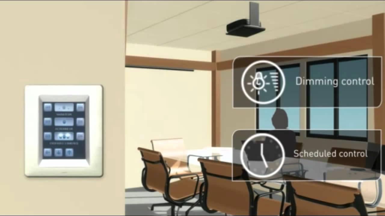 Legrand Smart Home Lighting Management Scenarios - YouTube for Smart Office Lighting  59jwn