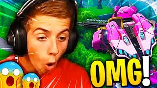 MA GAME THE MORE SURPRISING WITH THE NEW SKIN ON FORTNITE BATTLE ROYALE !!!