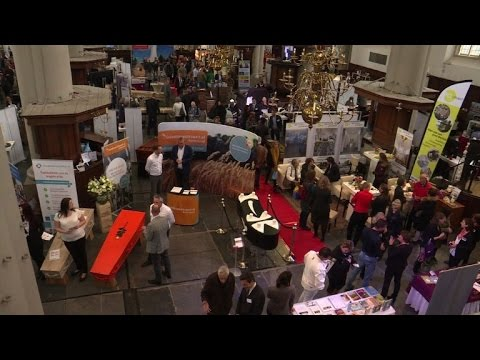 Dutch funeral expo digs up the latest in death trends