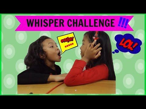 WHISPER CHALLENGE | Bahasa Indonesia [Kids Edition]