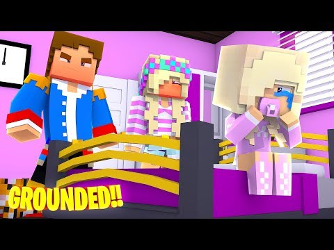 OUR BABY DAUGHTER IS GROUNDED FOR LIFE!! Minecraft - Little Donny Adventures