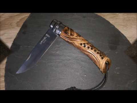 Messer Umbau Opinel N 7 Styling Geandert Spice Up My Knife
