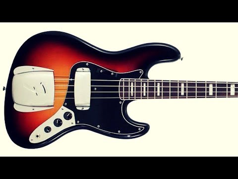 Soul Groove Bass Backing Jam Track (E)