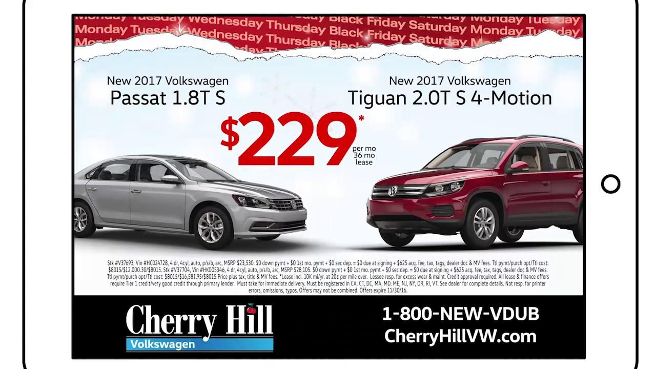 Cherry Hill Volkswagen >> Cherry Hill Volkswagen Black Friday Sale