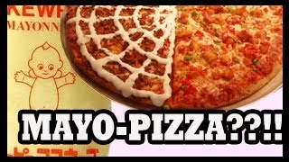Pizza With Mayonnaise = Weirdest New Japanese Food Trend