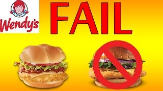 ♦ Wendy's Failed Smoked Gouda Chicken ♦ The Fast Food Review ♦