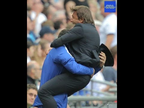 Conte Celebration to Alonso's winning GOAL! Tottenham vs Chelsea 1:2 - Chelsea FC my Religion