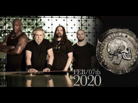 Sepultura Quadra 2020 N.A. tour with Sacred Reich, Crowbar and Art Of Shock..!