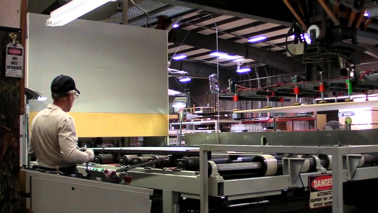 Inside Melamine Panel Production